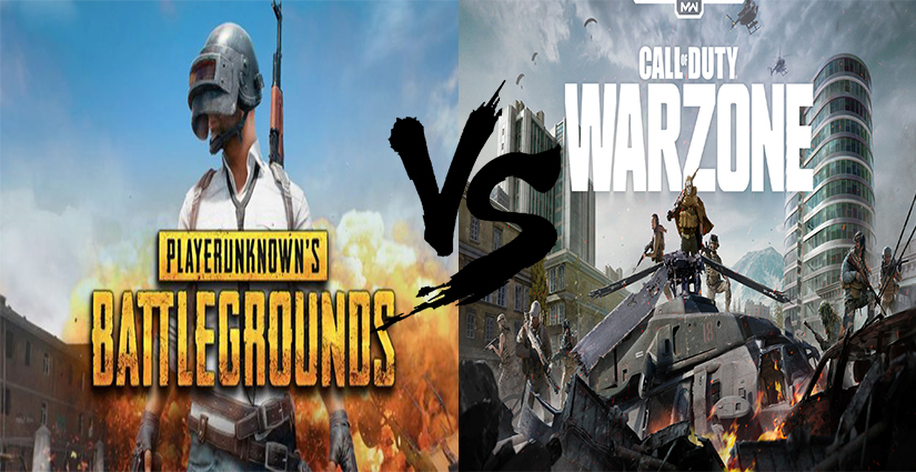"""Call of Duty Warzone VS PUBG"""" Warzone, a direct competitor of PUBG - Play Ludos"""