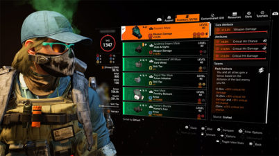 The Division 2 Coyote Mask