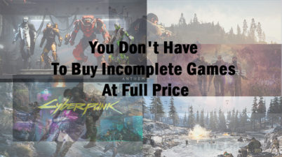Next-Gen Game Prices Are Not Justifying Their Quality