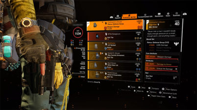 The Division 2 Contractor Gloves