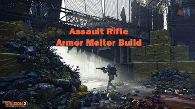 The Division 2 AR Build (Melt Armor of Enemies)