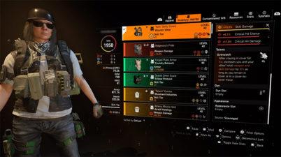 The Division 2 Wyvern Wear Overwatch