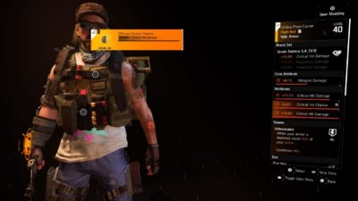 The Division 2 Unbreakable